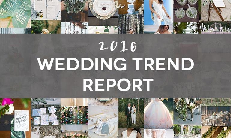 2016-os esküvői trendek – vagy nem