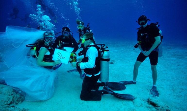 Extrém esküvői elképzelések