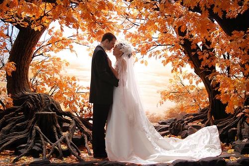 Imádjuk az őszi esküvőket!