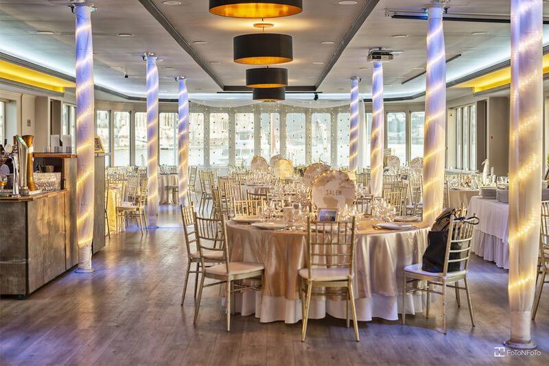 Európa Hajó, esküvői helyszín